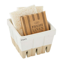 Load image into Gallery viewer, Wash Soap & Sponge Basket