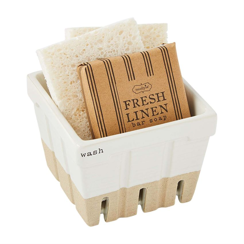 Wash Soap & Sponge Basket