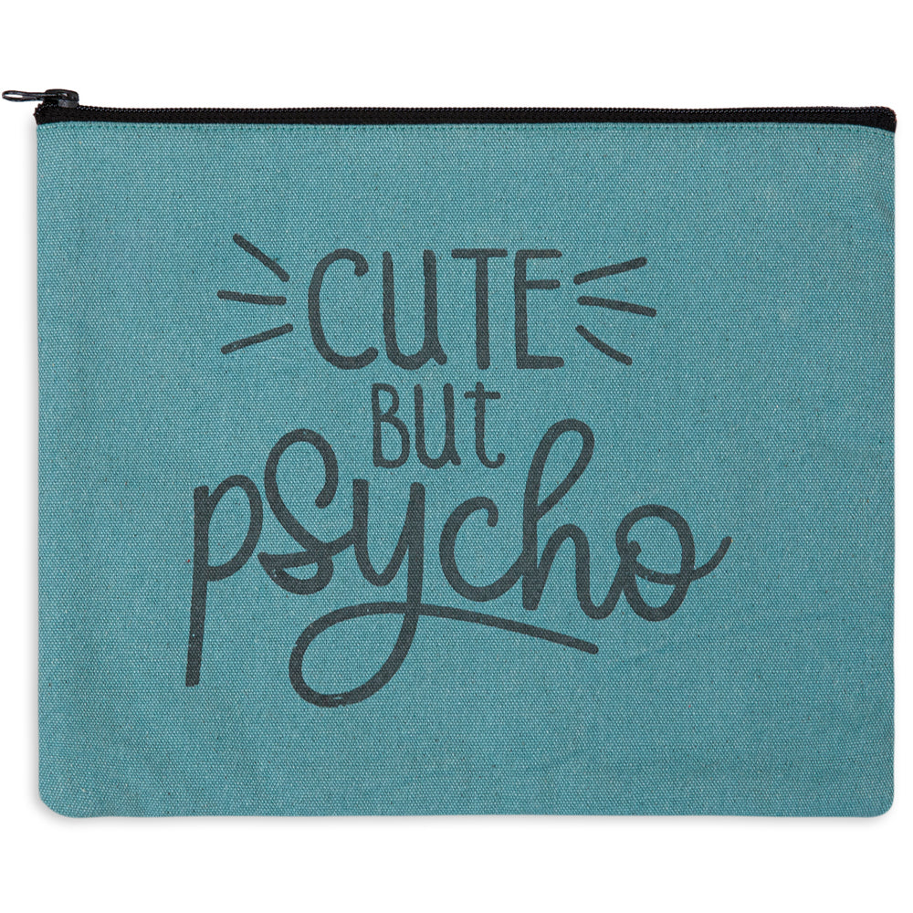 Cute But Psycho Travel Bag