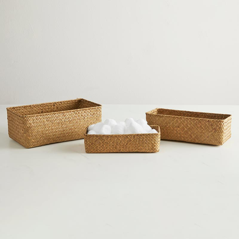 Rectangle Basket Set/3