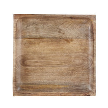 Load image into Gallery viewer, Wooden Square Tray Large