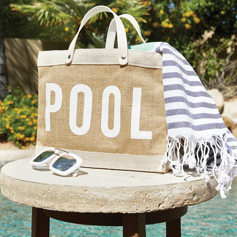 Pool Mini Market Tote