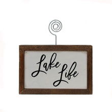Load image into Gallery viewer, Lake Life Sign 6x4
