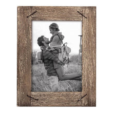 Load image into Gallery viewer, Weathered Wood Photo Frame 4X6