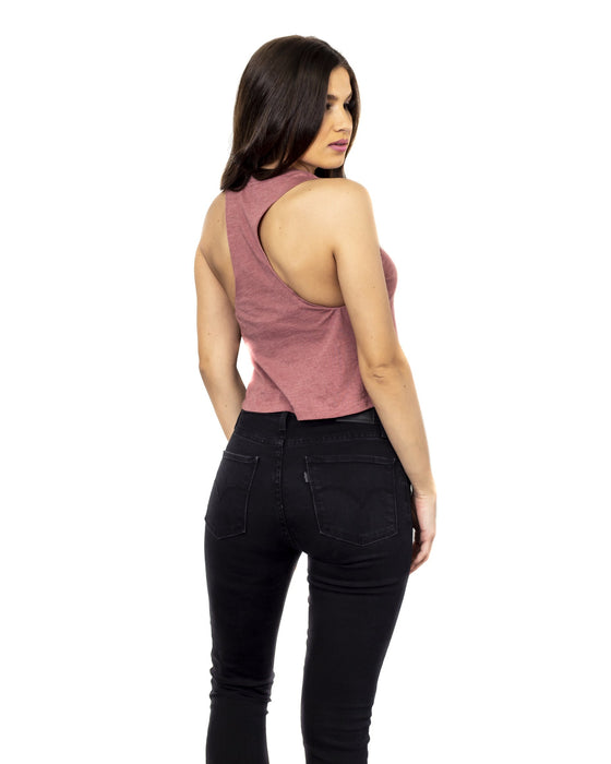 Dirt Alliance Racer Crop Top - Mauve