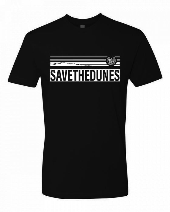 Dirt Alliance Save the Dunes T-Shirt - Black
