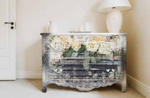 Redesign with Prima - Redesign Decor Transfers - White Fleur