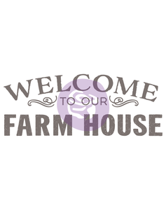 Redesign with Prima - Redesign Transfer - Our Farmhouse