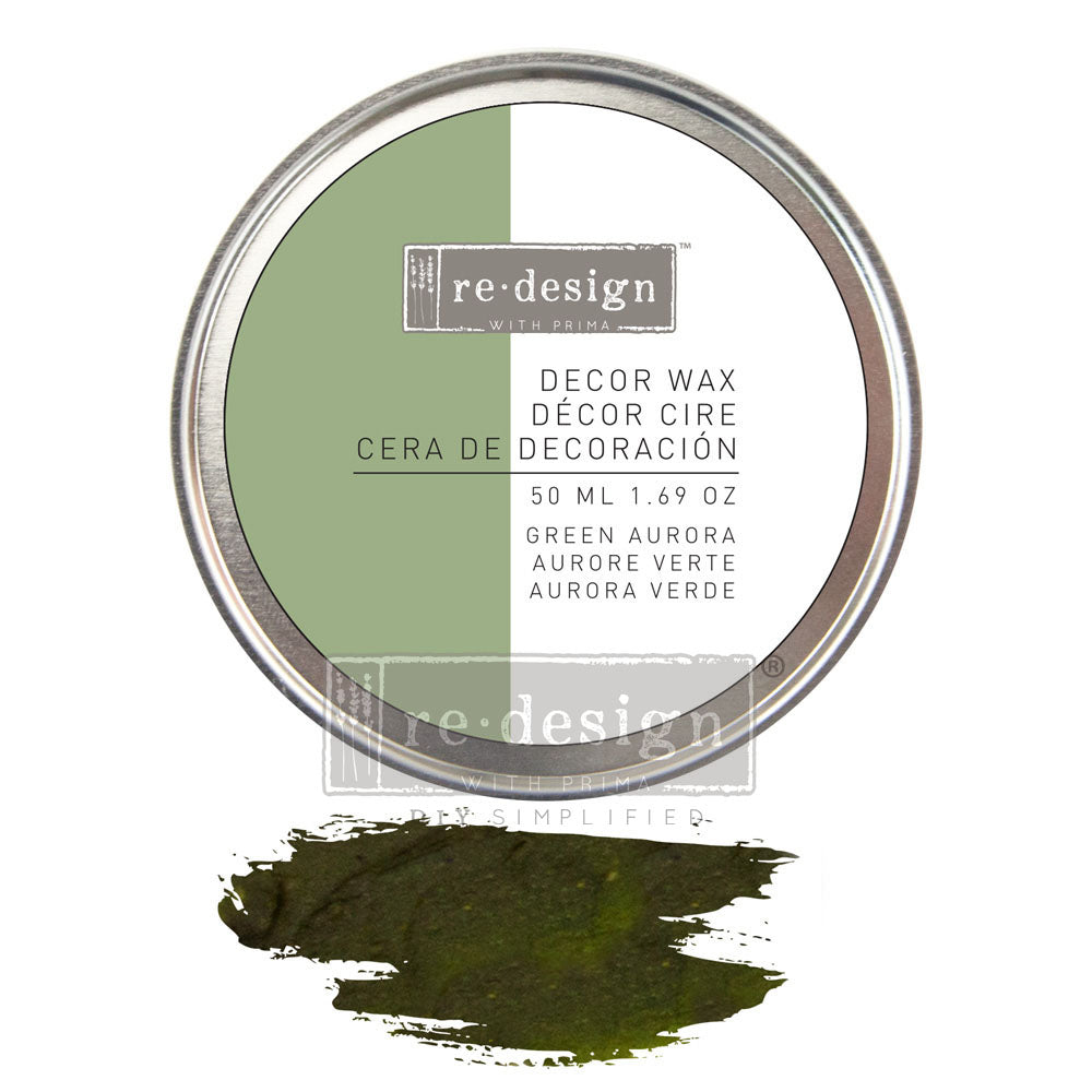 Redesign with Prima - Redesign Wax Paste - Green Aurora