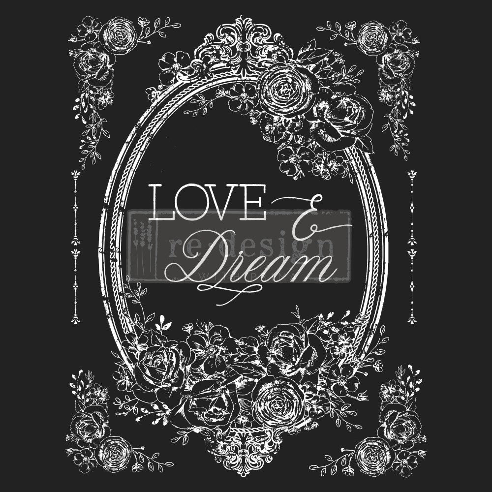 Redesign with Prima - Redesign Decor Transfer - Love & Dream