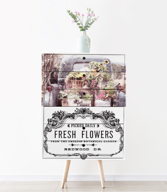 Redesign with Prima - ReDesign Decor Transfers - Fresh Flowers