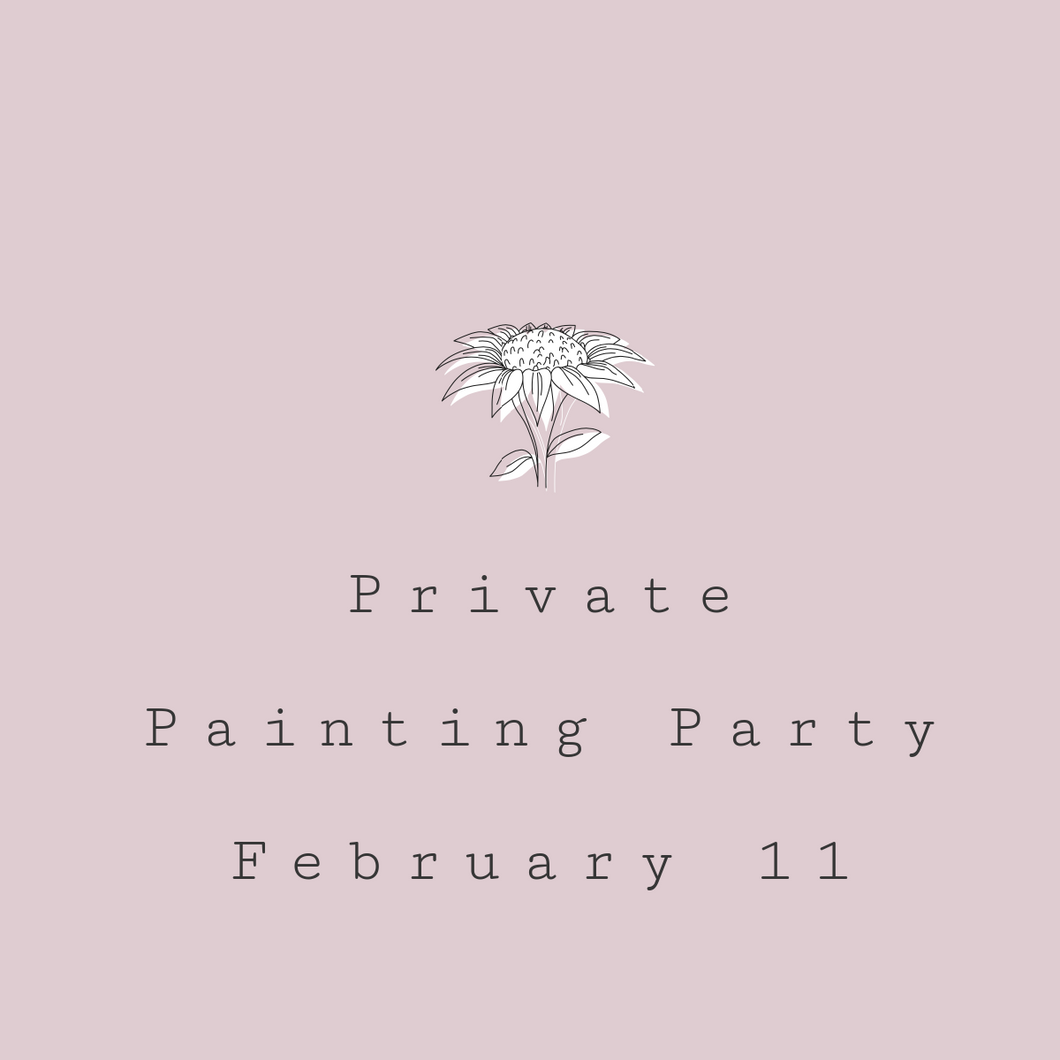 Private Paint Party February 23