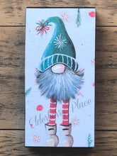 Load image into Gallery viewer, PRINT BLOCK of Original Gnome -  Christmas 7""