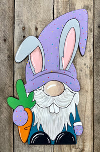 Easter Bunny Gnome - Wood Blank (Unpainted)