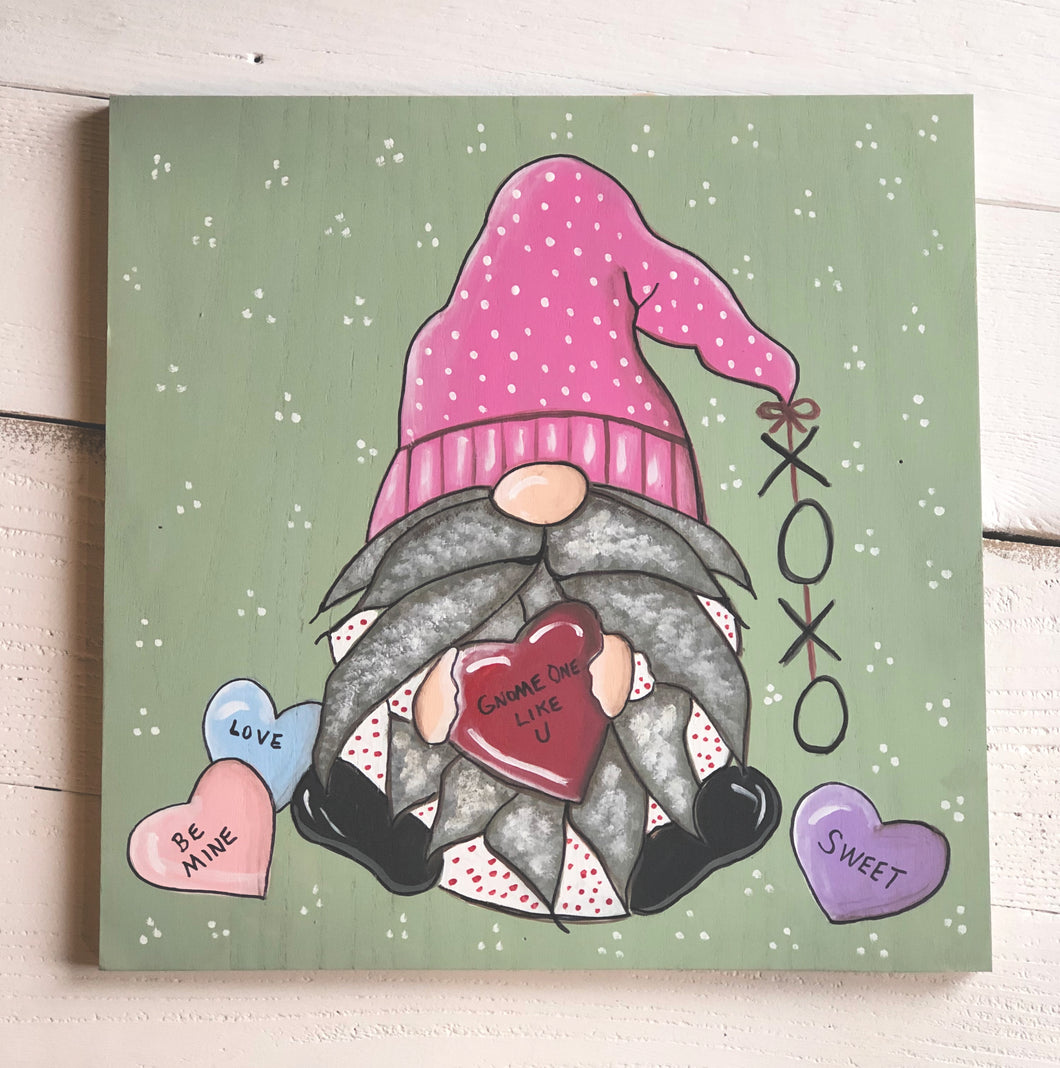 Valentine Gnome Paint Party! Tuesday, January 28, 6:00 - 8:30pm