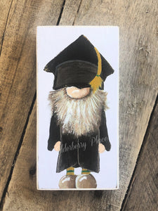 PRINT BLOCK of Original Gnome - Man Graduate 7""