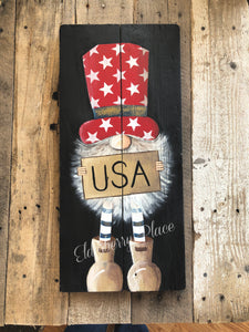 Gnome - Patriotic USA - 23""