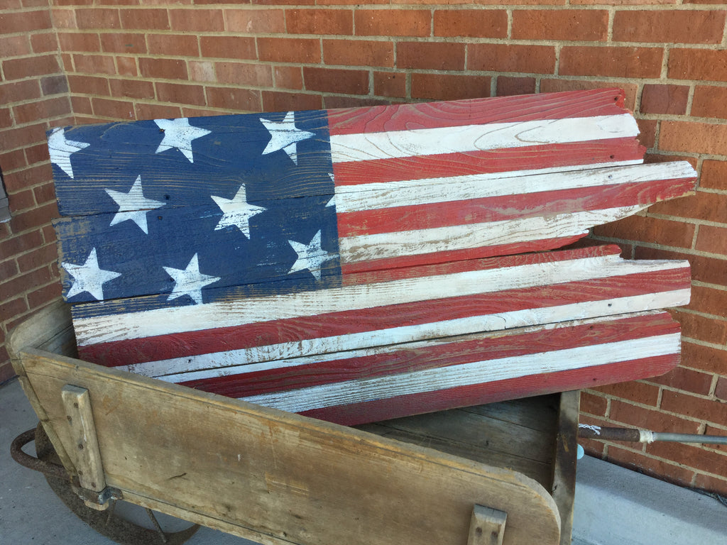 Large Rustic Flag - Wednesday, June 20 - 6:30pm  to 8:30pm