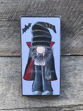 Load image into Gallery viewer, PRINT BLOCK of Original Gnome - Vampire - Halloween