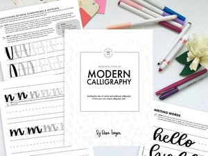 Introduction to Modern Calligraphy - Wednesday, Nov. 18, 6:30 to 8:30pm