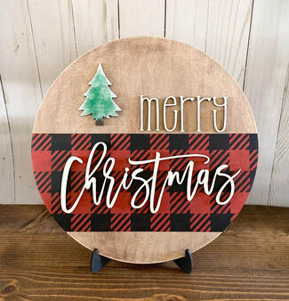 Christmas Round Creative Kit - DIY