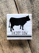 Load image into Gallery viewer, Print Block - Dairy Cow