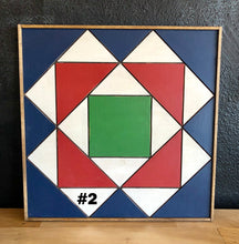 "Load image into Gallery viewer, 18"" x 18"" Framed Quilt Block Workshop (4 Designs) - Tuesday, September 15 - 6:30-9:00pm"