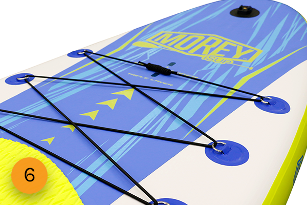 Morey SUP 6 point Bungee System