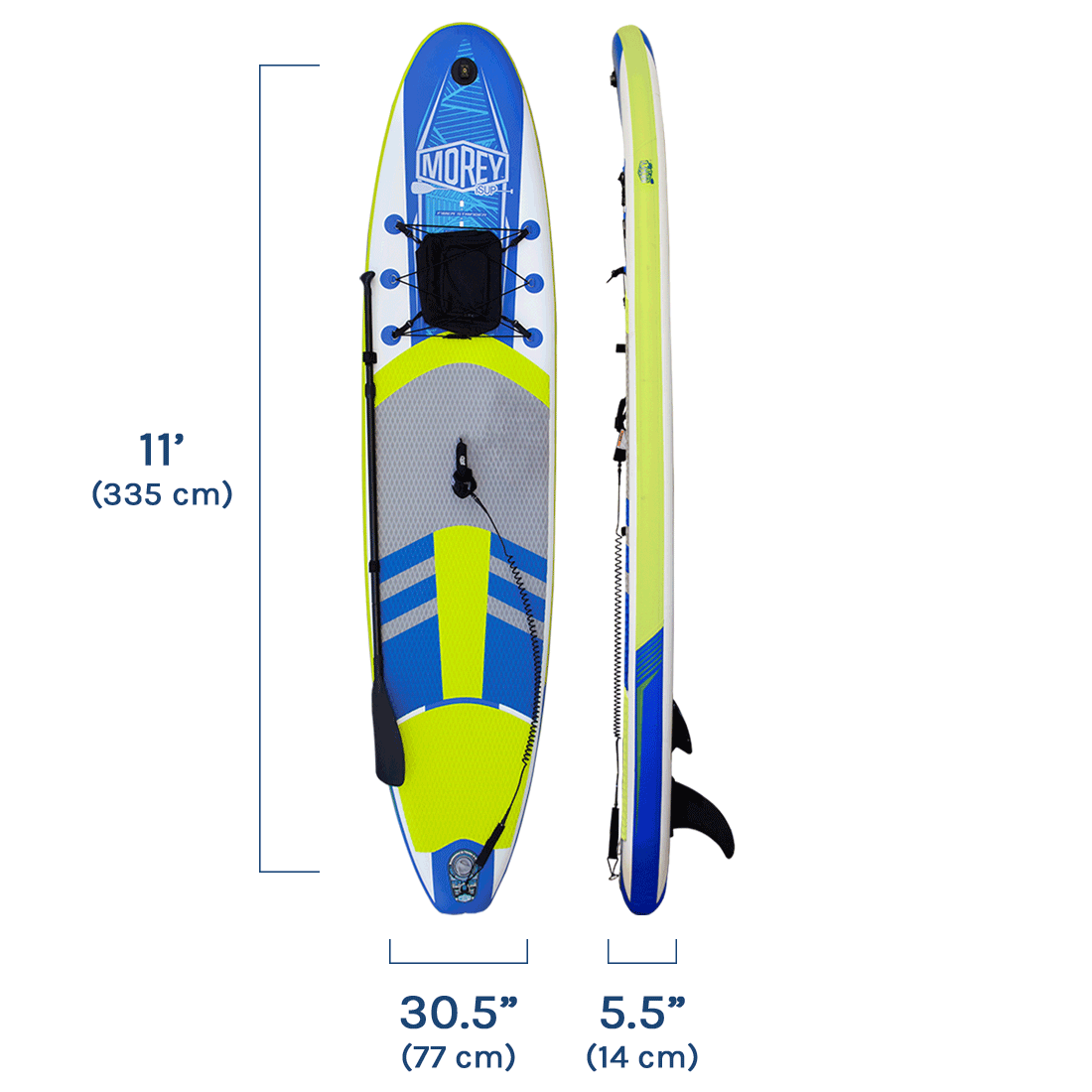 Morey SUP TRAVLR Product Specifications