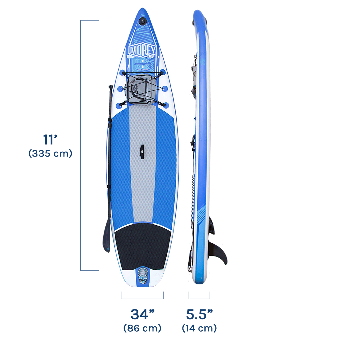 Morey SUP X-PLORE Product Specifications