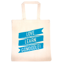 Love. Learn. GoNoodle! Tote