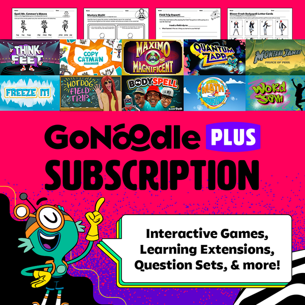 GoNoodle Plus Subscription
