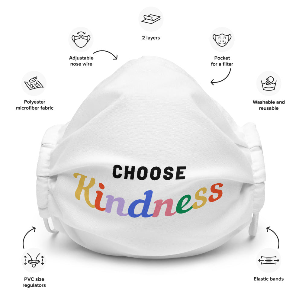Choose Kindness Face Mask