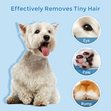 Load image into Gallery viewer, Petural Small Dog Clippers with LED Lighting Low Noise, 2-Speed Pet Hair Clippers,Rechargeable Electric Dog Paw Trimmer, Paw Trimmer for Grooming Small Dogs and Cats Around Paws, Eyes, Ears, Face, Rump