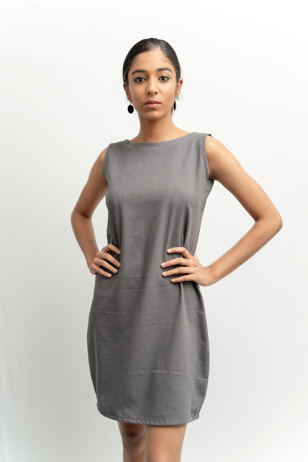 Gorgiana Linen basic dress