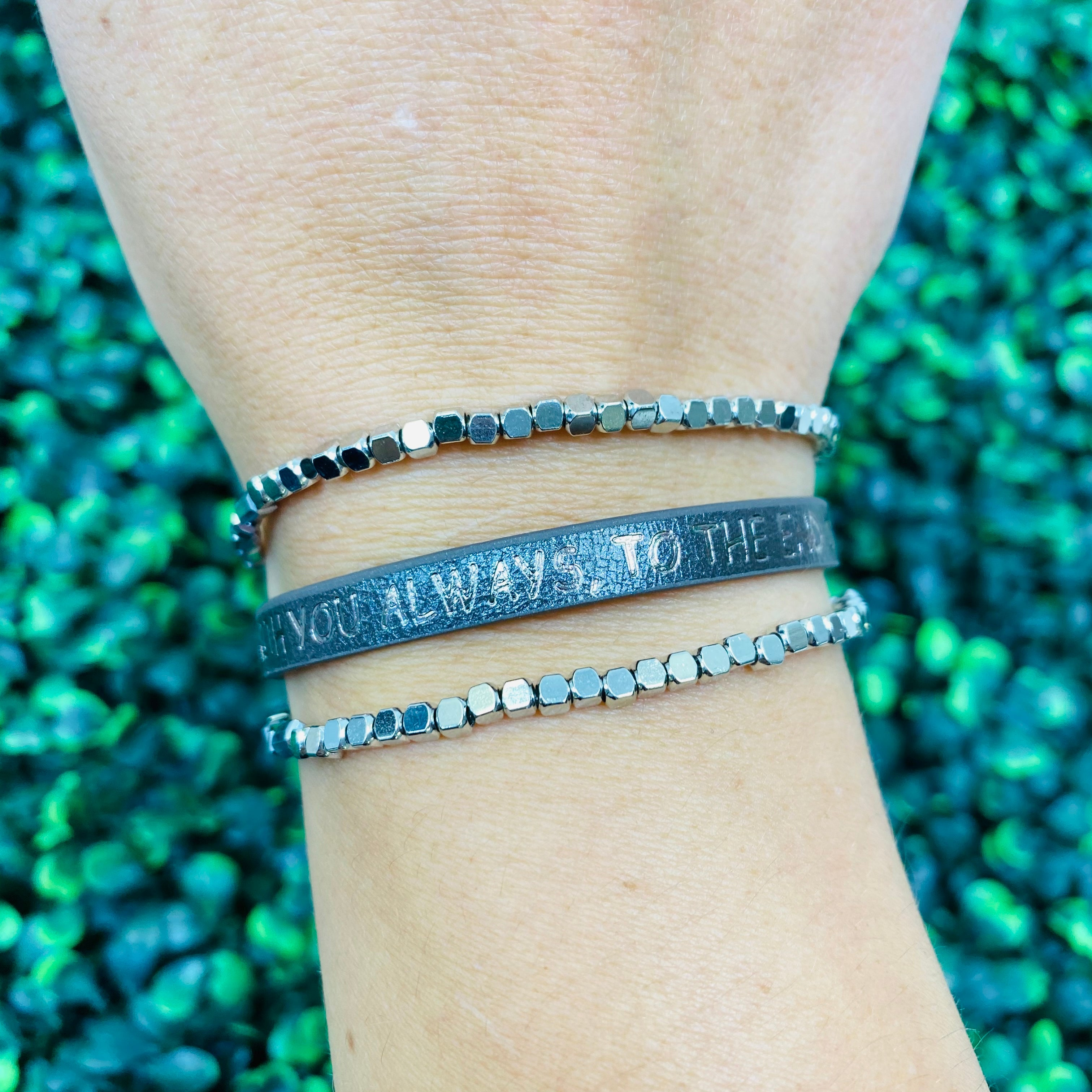 I Am With You Always, To The End Of The Age Bracelet- 2 Colors!