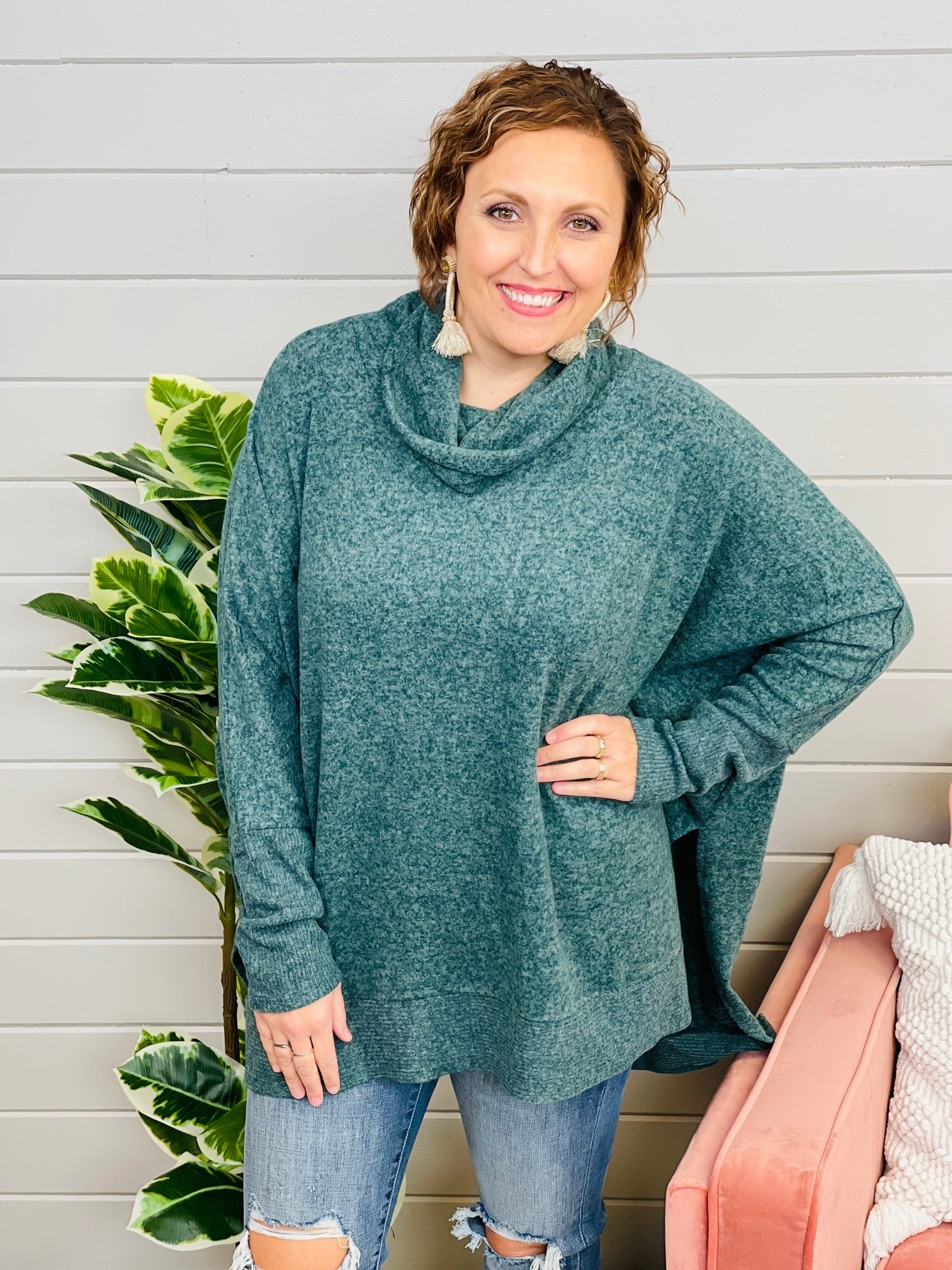 DOORBUSTER PLUS/REG Easy Choices Sweater- 7 Colors!