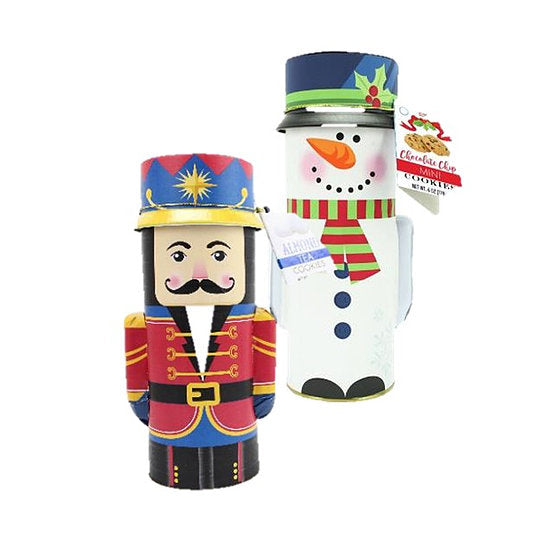 Christmas Character Cookie Tins- 2 Flavors!