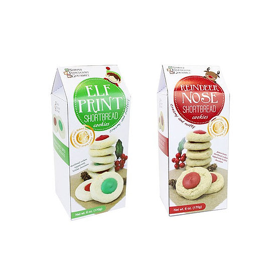 Holiday Shortbread Cookies- 2 Flavors!