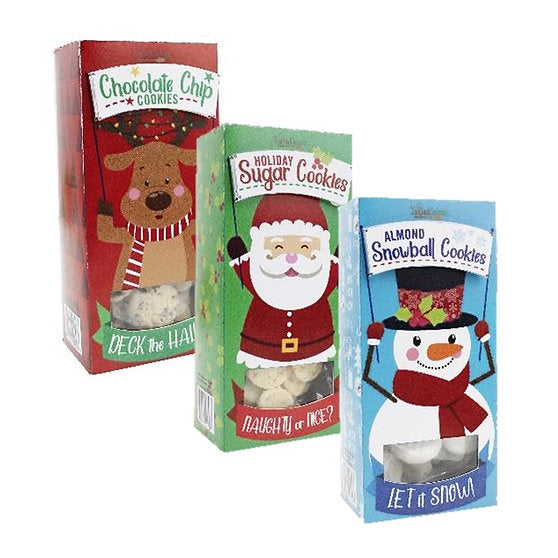 Holiday Buddy Cookies- 3 Flavors!
