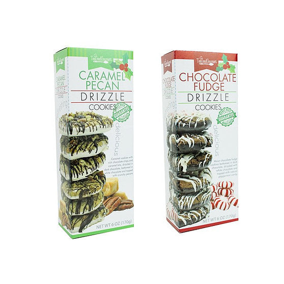 Holiday Drizzle Cookies- 2 Flavors!