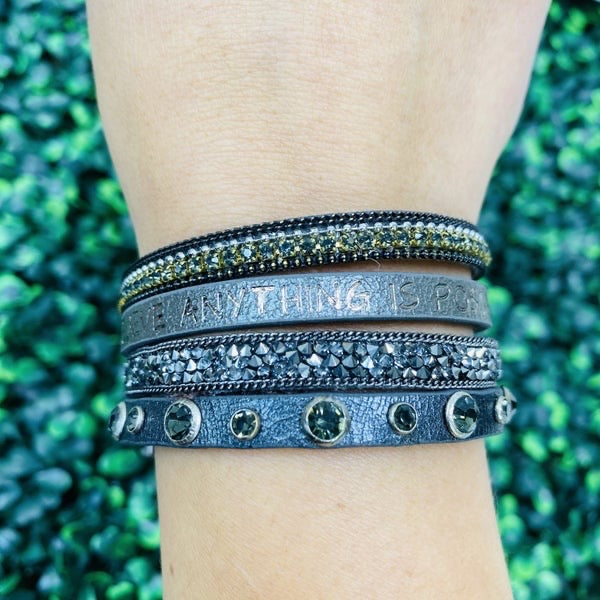 Believe Anything Is Possible Dream Big Bracelet- 2 Colors!