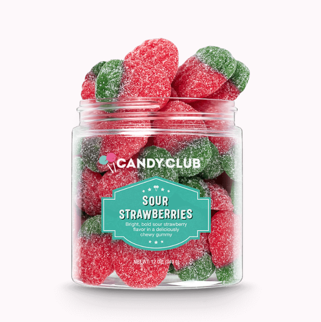 Gourmet Candy Sour Strawberries