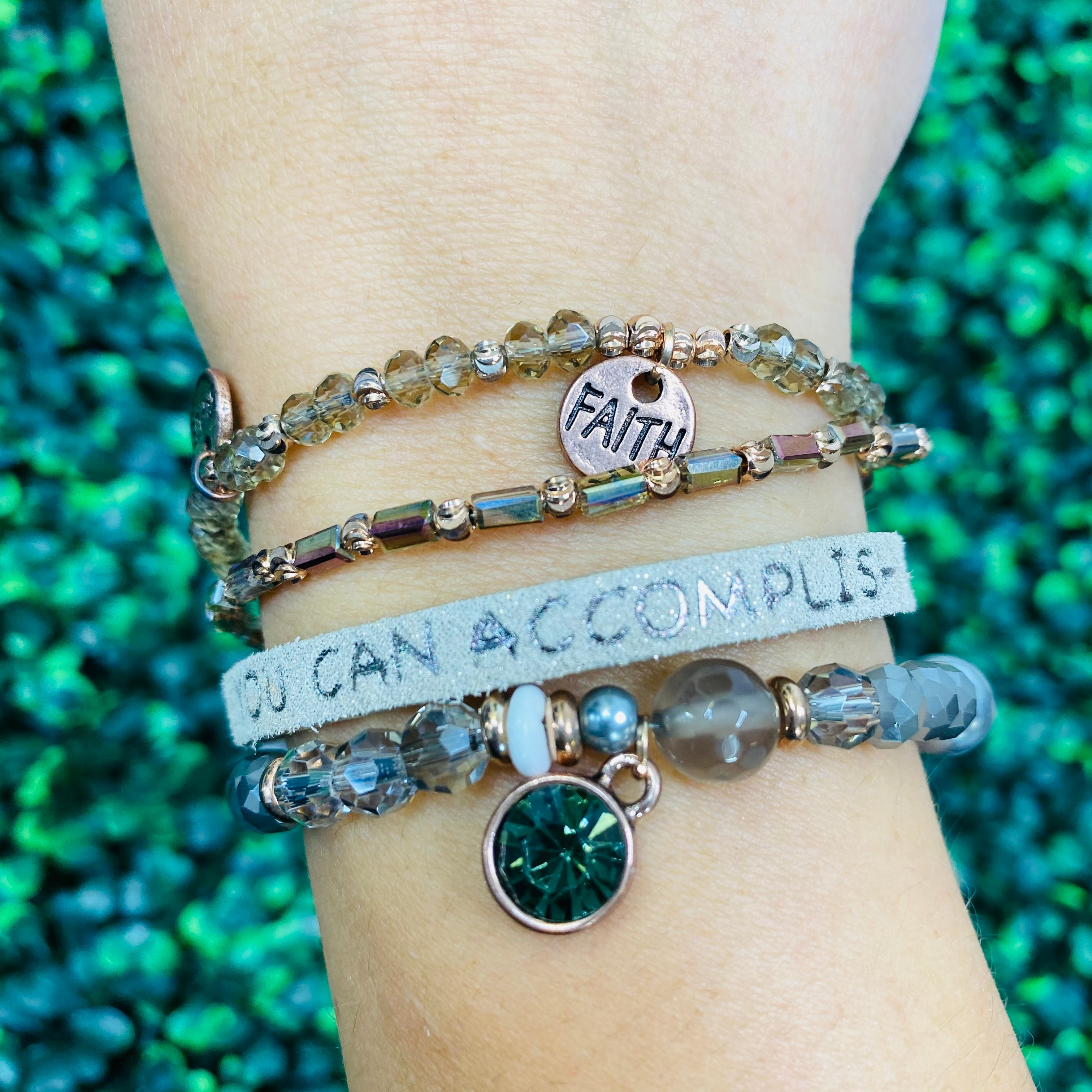 You Can Accomplish Anything Bracelet- 2 Colors!