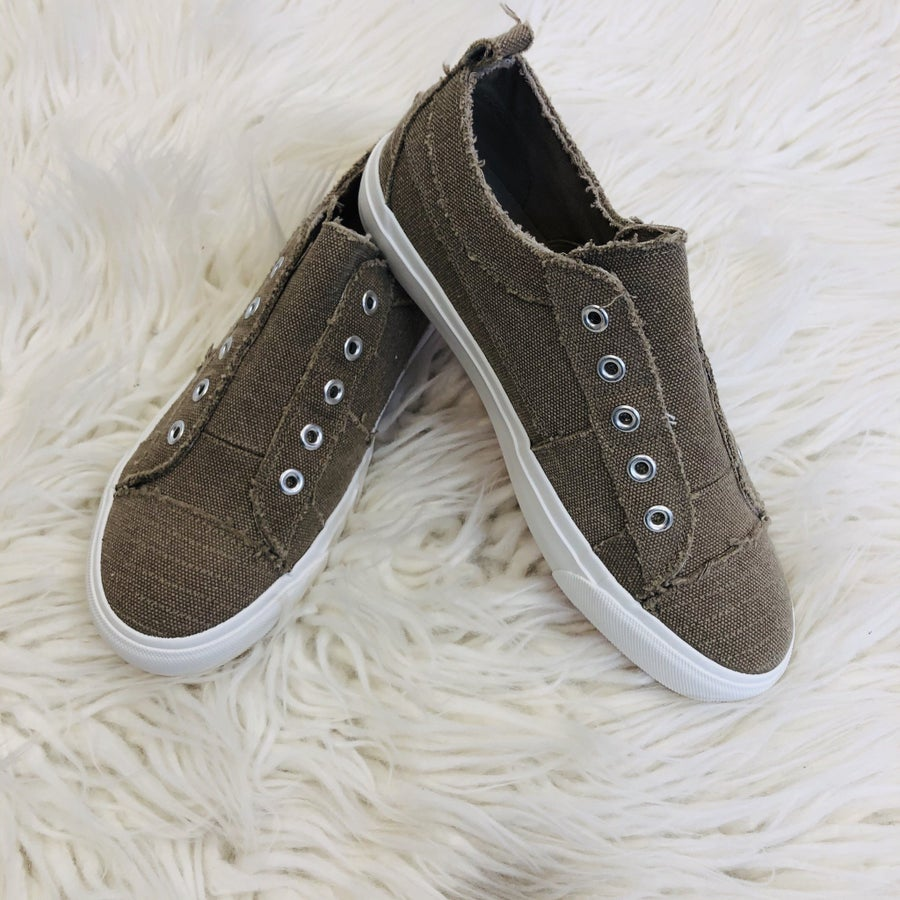 Corky's Mocha Slip On Sneakers