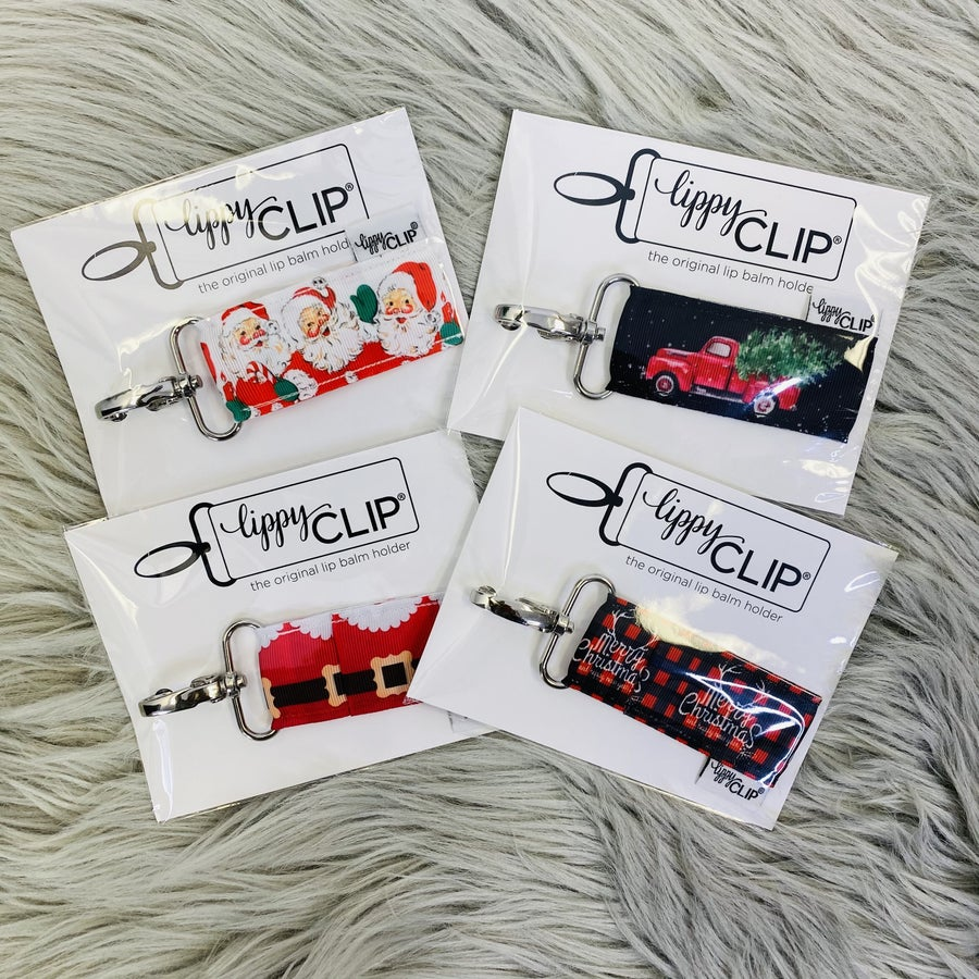Christmas Lippy Clip- 4 Colors!