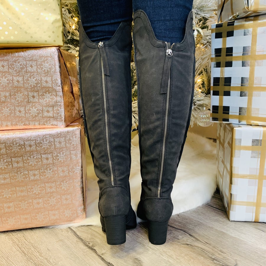 Tall Talk Boots- 2 Colors!