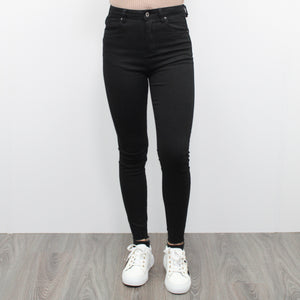QUEEN HEARTS SUPER HIGH WAIST JEANS