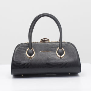 LUXURY BAG DIAMOND -ZWART