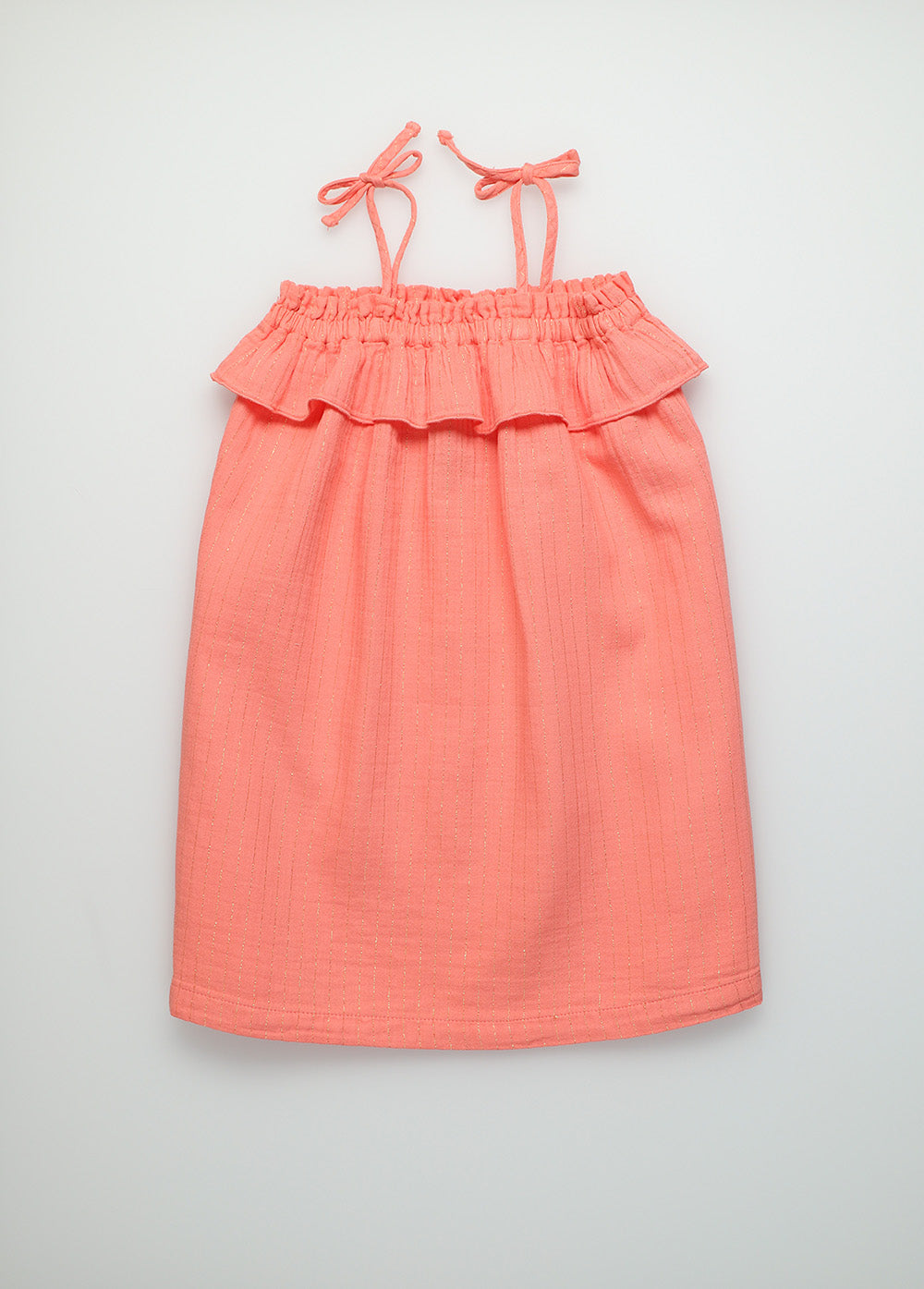 Claire coral dress